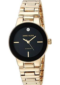 Anne Klein Часы Anne Klein 2670BKGB. Коллекция Diamond anne klein часы anne klein 1980wtrg коллекция diamond