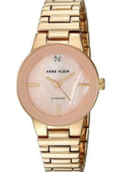 Anne Klein Часы Anne Klein 2670PMGB. Коллекция Diamond anne klein часы anne klein 1019wtwt коллекция diamond page 2