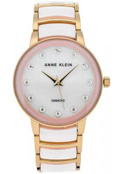 Anne Klein Часы Anne Klein 2672LPGB. Коллекция Diamond anne klein часы anne klein 2794rgrg коллекция diamond