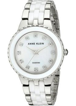 Anne Klein Часы Anne Klein 2713WTSV. Коллекция Diamond anne klein часы anne klein 2670pmgb коллекция diamond
