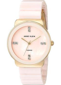 Anne Klein Часы Anne Klein 2714LPGB. Коллекция Diamond anne klein часы anne klein 2674bkgb коллекция dress