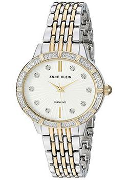 Anne Klein Часы Anne Klein 2783SVTT. Коллекция Diamond anne klein 1442 bkgb