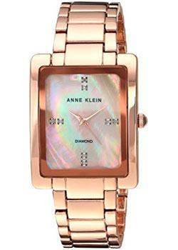 Anne Klein Часы Anne Klein 2788RMRG. Коллекция Diamond anne klein часы anne klein 1980wtrg коллекция diamond