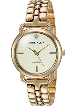 Anne Klein Часы Anne Klein 2794CHGB. Коллекция Diamond anne klein часы anne klein 1019wtwt коллекция diamond page 2