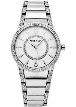 Anne Klein Часы Anne Klein 2831MPSV. Коллекция Crystal наручные часы anne klein crystal 2025 mpsv