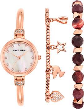Anne Klein Часы Anne Klein 2840RJAS. Коллекция Crystal anne klein часы anne klein 2934bngb коллекция crystal