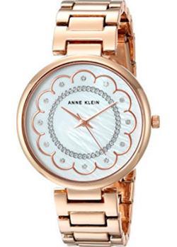 Anne Klein Часы Anne Klein 2842MPRG. Коллекция Crystal anne klein часы anne klein 1794mpgb коллекция crystal