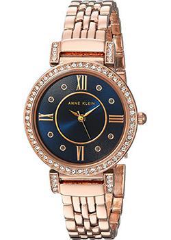 Anne Klein Часы Anne Klein 2928NVRG. Коллекция Crystal часы nixon time teller deluxe leather navy sunray brow