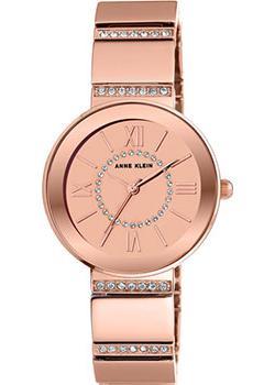Anne Klein Часы Anne Klein 2946RMRG. Коллекция Crystal anne klein часы anne klein 1030mpgb коллекция crystal