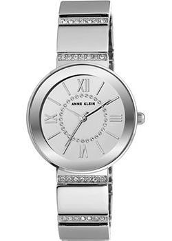 Anne Klein Часы Anne Klein 2947SMSV. Коллекция Crystal anne klein 2436 lpgb