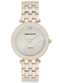 Часы Anne Klein Diamond 3310TNGB