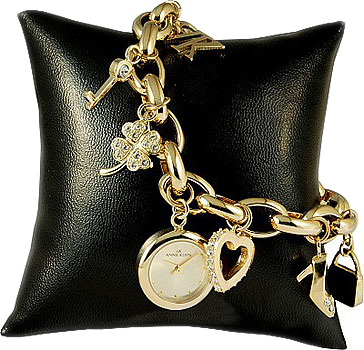 Anne Klein Часы Anne Klein 7604CHRM. Коллекция Fashion time anne klein 1414 bkgb