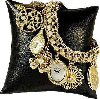 Anne Klein Часы Anne Klein 8096CHRM. Коллекция Fashion time anne klein 1238 hygb