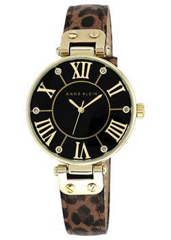цены  Anne Klein Часы Anne Klein 9918BKLE. Коллекция Ring