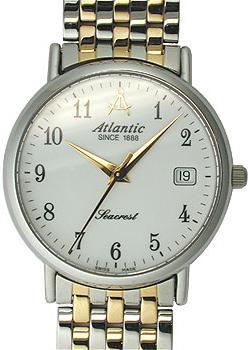 цена Atlantic Часы Atlantic 50345.43.13. Коллекция Seacrest онлайн в 2017 году