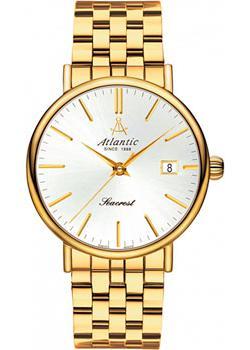 цена Atlantic Часы Atlantic 50359.45.21. Коллекция Seacrest онлайн в 2017 году