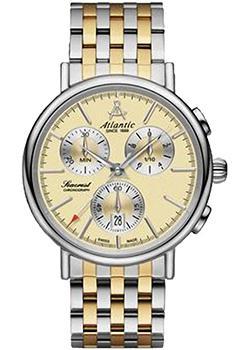 купить Atlantic Часы Atlantic 50446.43.31. Коллекция Seacrest по цене 39140 рублей