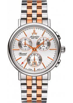 цена Atlantic Часы Atlantic 50459.43.21R. Коллекция Seacrest онлайн в 2017 году
