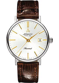 Atlantic Часы Atlantic 50744.41.21G. Коллекция Seabase atlantic часы atlantic 64455 45 38 коллекция seabase