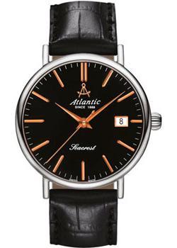 цена Atlantic Часы Atlantic 50754.41.61R. Коллекция Seacrest онлайн в 2017 году