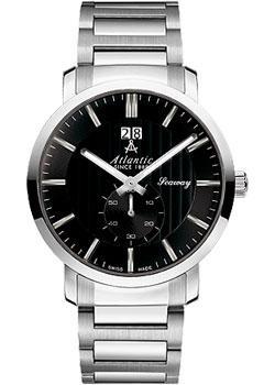 Atlantic Часы Atlantic 63365.41.61. Коллекция Seaway atlantic часы atlantic 27343 45 21 коллекция seamoon