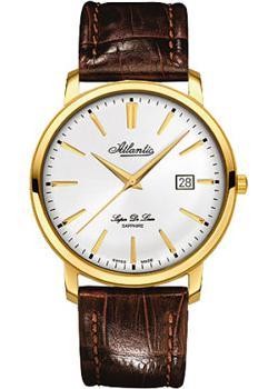 цена Atlantic Часы Atlantic 64351.45.21. Коллекция Super De Luxe онлайн в 2017 году