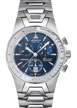 Atlantic Часы Atlantic 80477.41.51. Коллекция Mariner Chrono atlantic 71360 43 21