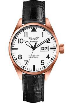Aviator Часы Aviator V.1.22.2.152.4. Коллекция Airacobra мужские часы aviator v 2 25 7 171 5