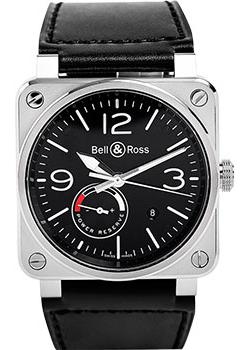 Bell&Ross Часы BR0397-BL-SI_SCA