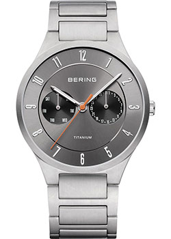 Bering Часы Bering 11539-779. Коллекция Titanium bering bering 32327 742