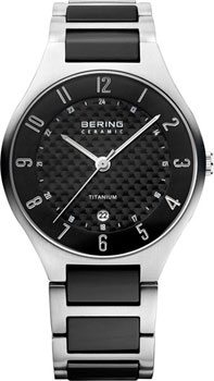 цена Bering Часы Bering 11739-702. Коллекция Titanium