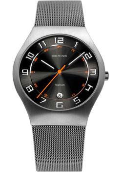 цена на Bering Часы Bering 11937-007. Коллекция Titanium