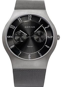 купить Bering Часы Bering 11939-077. Коллекция Titanium онлайн
