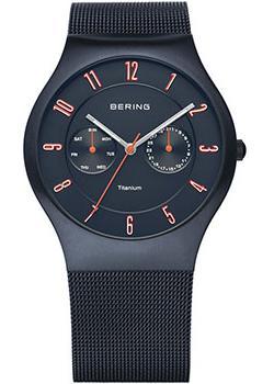 купить Bering Часы Bering 11939-393. Коллекция Titanium онлайн
