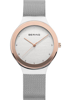 Bering Часы Bering 12934-060. Коллекция Classic k colouring women ladies automatic self wind watch hollow skeleton mechanical wristwatch for gift box