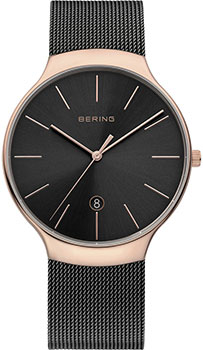 Bering Часы Bering 13338-262. Коллекция Classic pure ceramic never fade watchbands 12mm 14mm 16mm 18mm 20mm 22mm for mens watches lady wrist watch band strap bracelet polished
