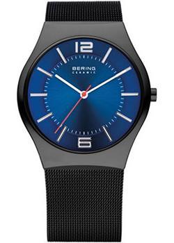Bering Часы Bering 32039-447. Коллекция Ceramic цена 2017