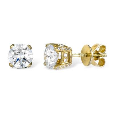 Золотые серьги Ювелирное изделие E00016670YG золотые серьги ювелирное изделие e00016670yg