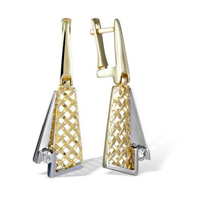 Золотые серьги Ювелирное изделие E00035001YW
