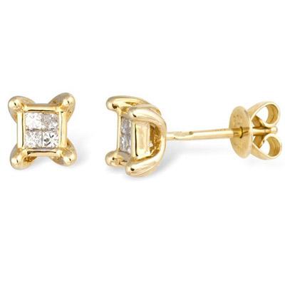 Золотые серьги Ювелирное изделие EK00169YG