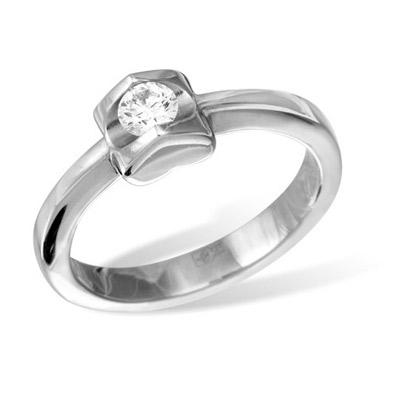 Золотое кольцо Ювелирное изделие K010722WG цены онлайн