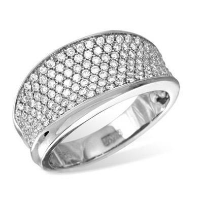 Золотое кольцо Ювелирное изделие K012242WG золотое изделие 375 пробы в украине