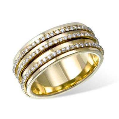 Золотое кольцо Ювелирное изделие K016782YG золотое изделие 375 пробы в украине