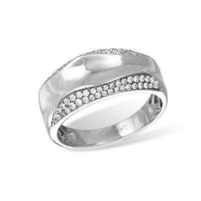 Золотое кольцо Ювелирное изделие K025379WG золотое изделие 375 пробы в украине