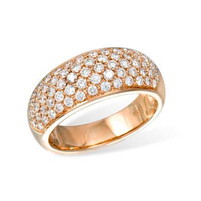 Золотое кольцо Ювелирное изделие K04877RG золотое изделие 375 пробы в украине