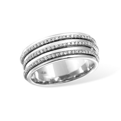 Золотое кольцо Ювелирное изделие RB016782WG