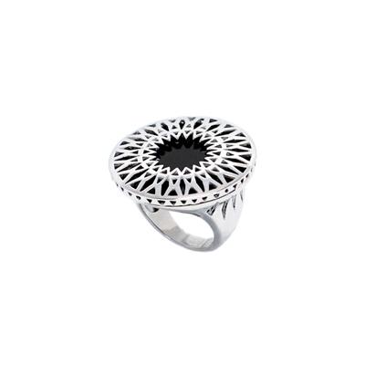 Серебряное кольцо Ювелирное изделие G9SA21A минибар д ликера кольцо 7 пр стекло