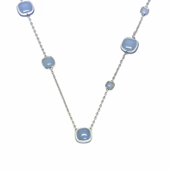 Серебряное колье Ювелирное изделие G9SO01 декор brennero luce dec charme moka 25x75