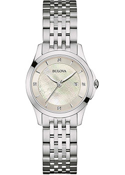 Bulova Часы Bulova 96S160. Коллекция Diamonds bulova часы bulova 97s114 коллекция diamonds
