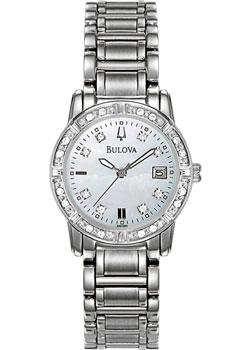 Bulova Часы Bulova 96W105. Коллекция Ladies Diamond цены онлайн